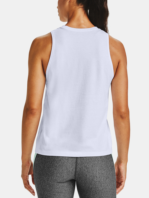 Tílko Under Armour Logo Graphic Muscle Tank-WHT