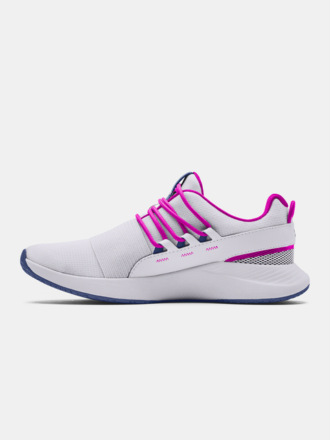 Boty Under Armour UA W Charged Breathe LACE-WHT