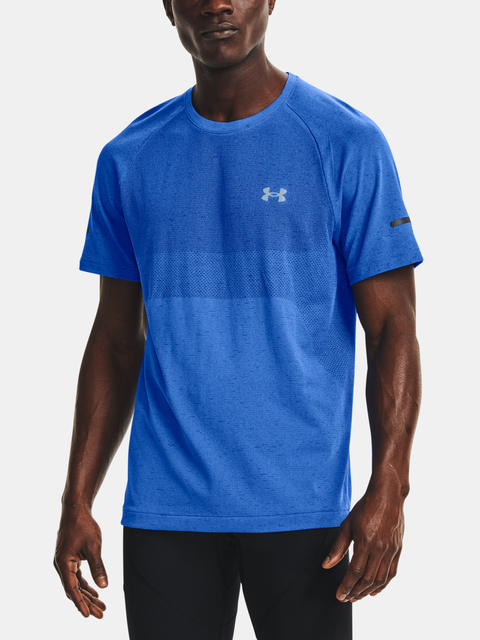 Tričko Under Armour UA Vanish Seamless Run SS-BLU