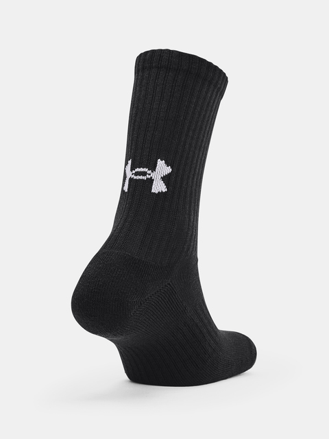 Ponožky Under Armour Core Crew 3PK-BLK