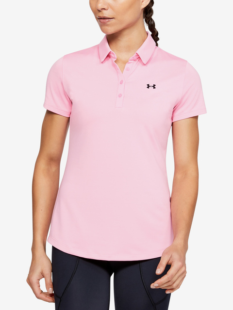 Tričko Under Armour  Zinger Short Sleeve Polo-PNK