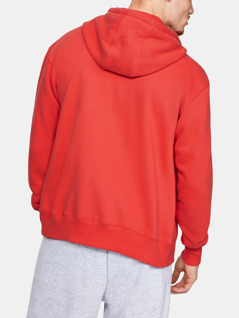 Mikina Under Armour Performance Originators Fleece Fz-Red