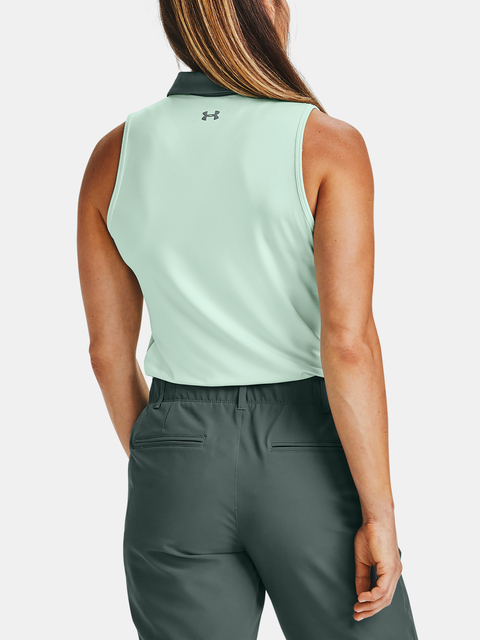 Tílko Under Armour Zinger Sleeveless Polo-BLU