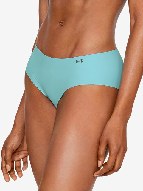 Kalhotky Under Armour PS Hipster 3Pack Print-BLU