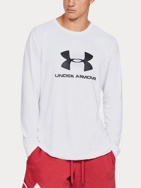 Tričko Under Armour Sportstyle Logo Ls