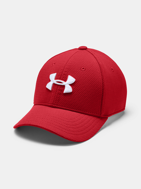 Kšiltovka Under Armour Boy's Blitzing 2.0-RED