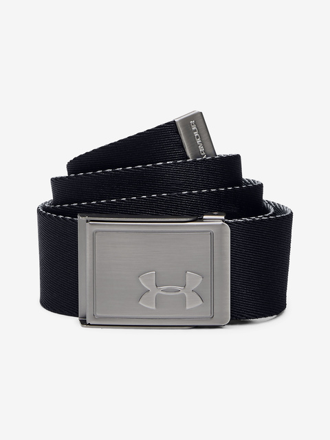 Pásek Under Armour Boy's Webbing 2.0 Belt-BLK