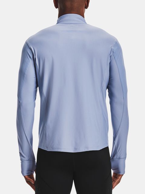 Tričko Under Armour QUALIFIER HALF ZIP-BLU