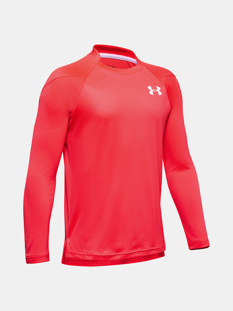 Tričko Under Armour Sun Armour LS-RED