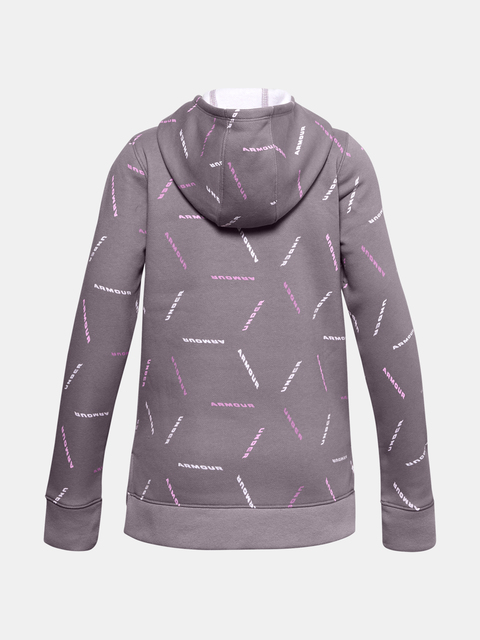 Mikina Under Armour Rival Fleece Printed Hoodie