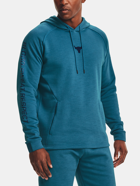 Mikina Under Armour Project Rock CC Hoodie-BLU