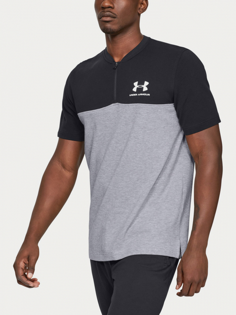 Tričko Under Armour Sportstyle Track 1/2 Zip