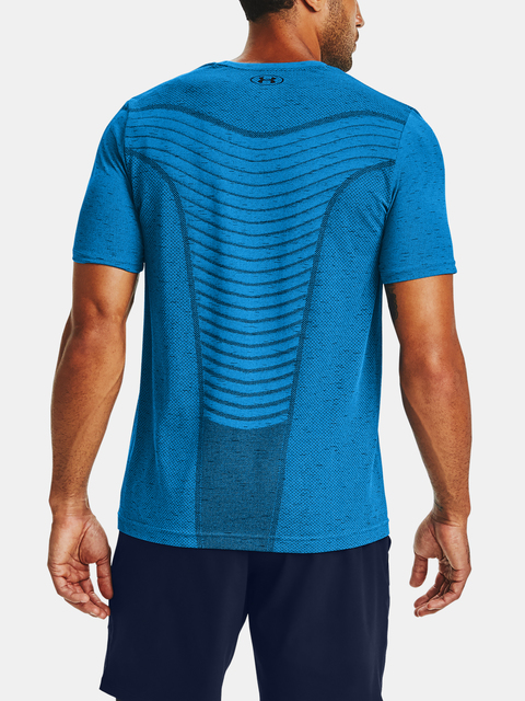 Tričko Under Armour Seamless Wave SS-BLU
