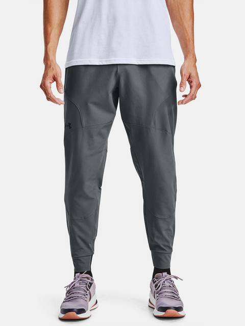 Tepláky Under Armour UNSTOPPABLE JOGGERS-GRY