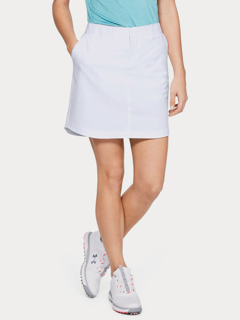 Sukně Under Armour Links Woven Skort (EU)-WHT