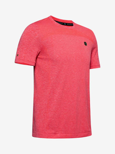 Tričko Under Armour Rush Seamless Fitted SS-RED