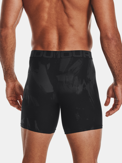 Boxerky Under Armour Tech 6in Novelty 2 Pack-BLK
