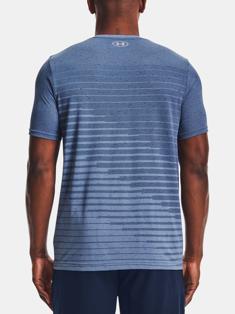 Tričko Under Armour Seamless Fade SS-BLU