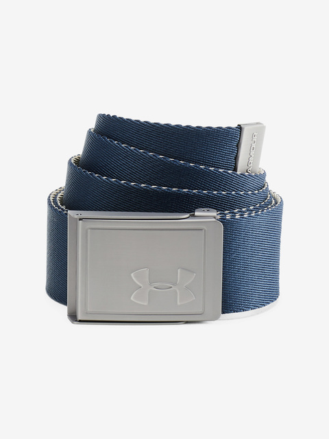 Pásek Under Armour Men's Webbing 2.0 Belt-NVY