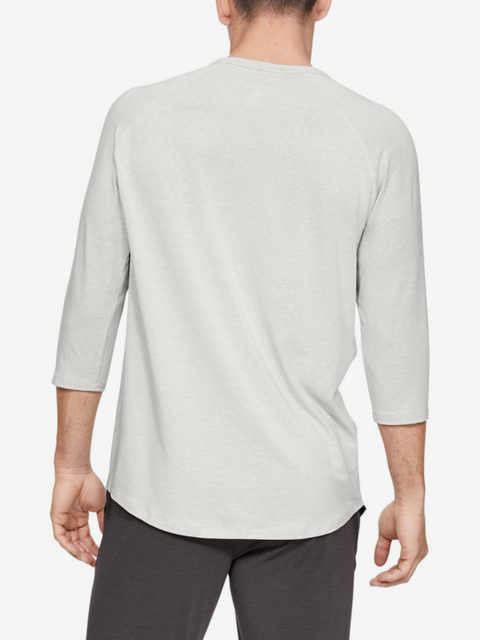 Pyžamo Under Armour Recovery Sleepwear Henley-Wht