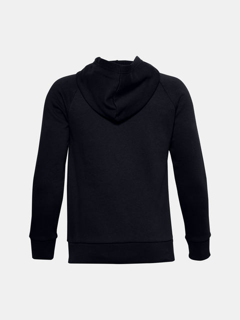 Mikina Under Armour UA RIVAL COTTON HOODIE-BLK