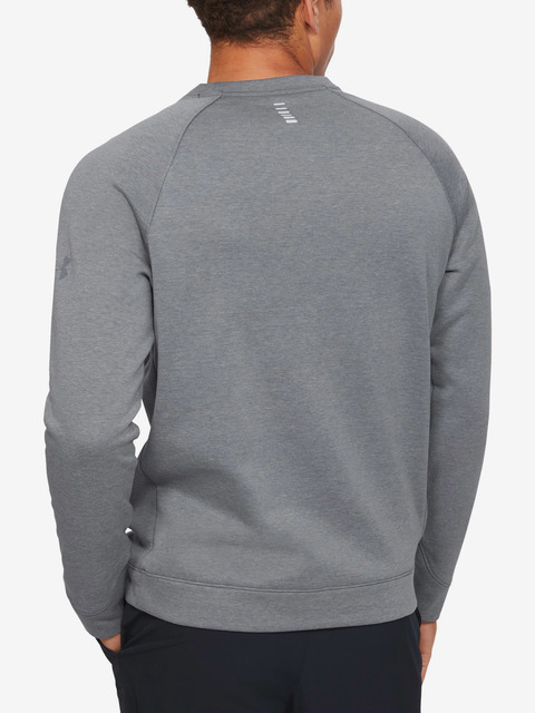 Mikina Under Armour Run Performance Fleece Crew-Gry