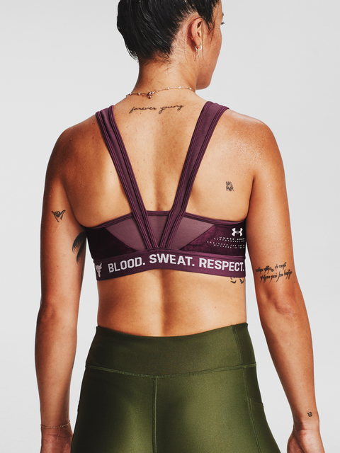 Podprsenka Under Armour  Project Rock Bra-PPL