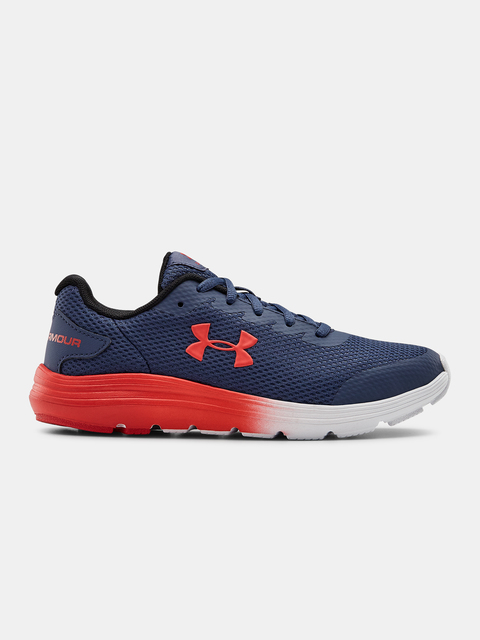 Boty Under Armour UA GS Surge 2-BLU