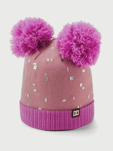 Čepice Under Armour Girls Double Pom Beanie
