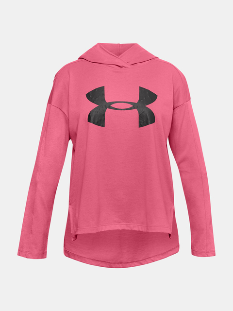 Mikina Under Armour Favorites Jersey Hoodie-PNK