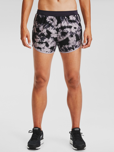 Kraťasy Under Armour W UA Fly By 2.0 Printed Short-PPL