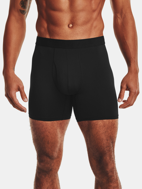 Boxerky Under Armour UA Tech Mesh 6in 2 Pack-BLK