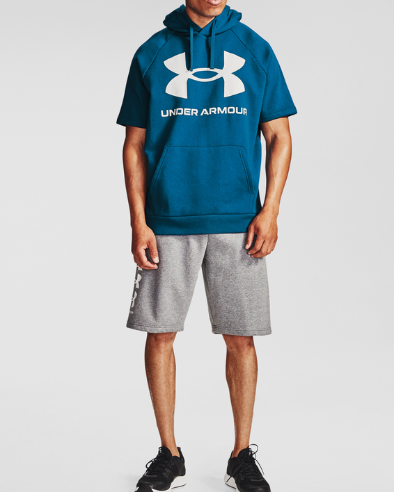 Mikina Under Armour Rival Flc Big Logo SS HD-BLU