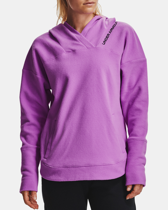 Mikina Under Armour Recover Fleece Hoodie-PPL