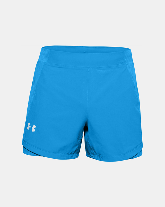 Kraťasy Under Armour UA QUALIFIER SPEEDPOCKET 5'' SHORT-BLU