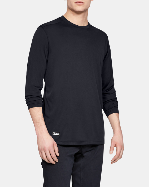 Tričko Under Armour UA TAC Tech LS T-BLK