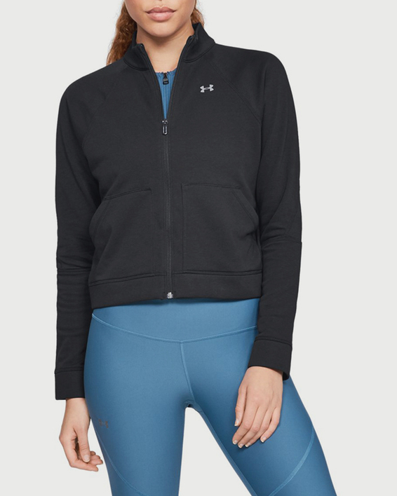 Mikina Under Armour Favorite Terry FZ Bomber