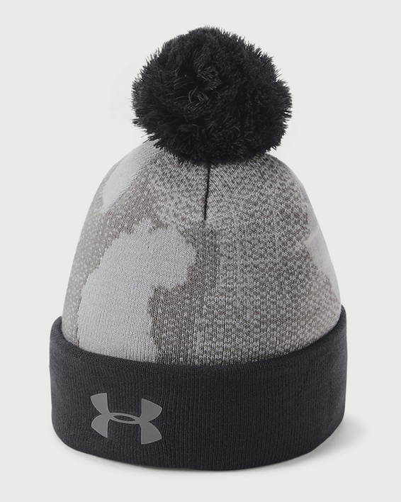 Čepice Under Armour Boy\'s Pom Beanie Upd