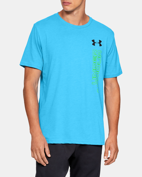 Tričko Under Armour GL Essentials LC SS T-BLU