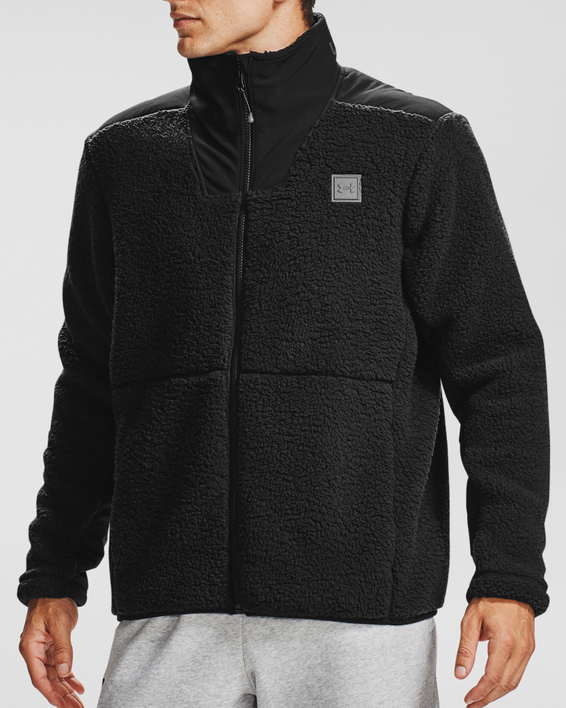 Bunda Under Armour LEGACY SHERPA SWACKET-BLK