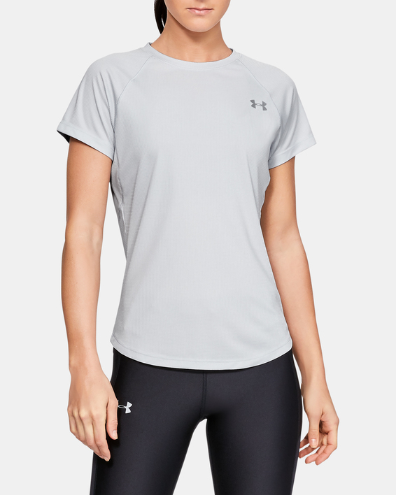 Tričko Under Armour Speed Stride Short Sleeve-GRY