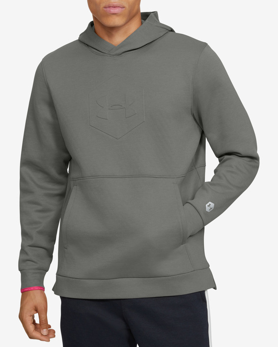 Mikina Under Armour Athlete Recovery Fleece Graphic Hoodie-G