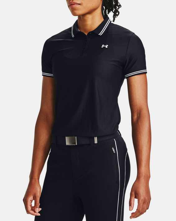 Tričko Under Armour Zinger Pique Polo-BLK