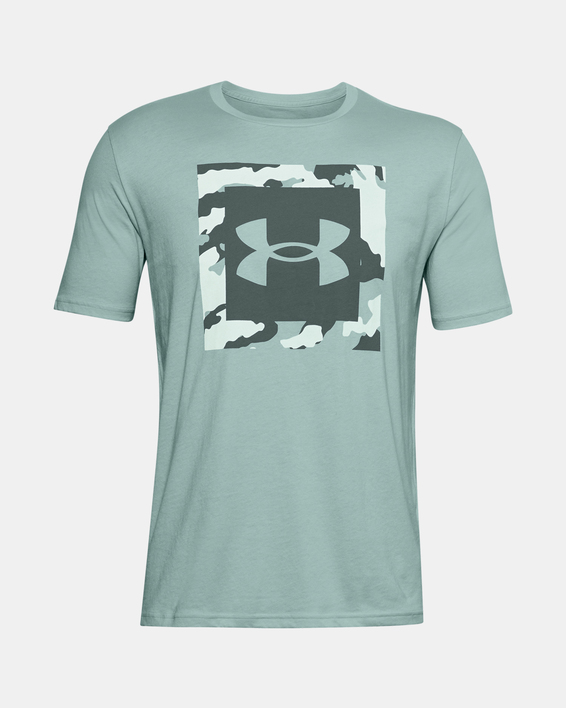 Tričko Under Armour UA CAMO BOX LOGO SS-BLU