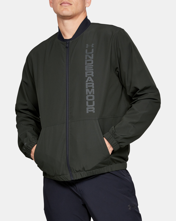 Bunda Under Armour Unstoppable Essential Bomber-Grn