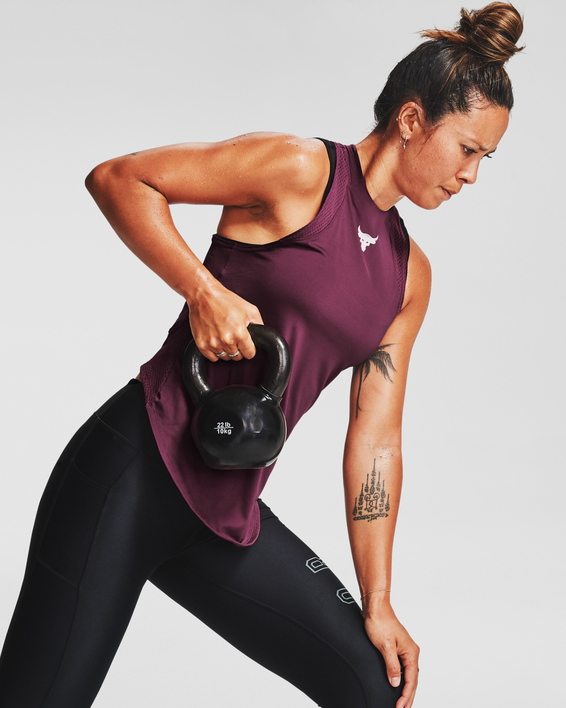 Tílko Under Armour Project Rock Perf Tank-PPL
