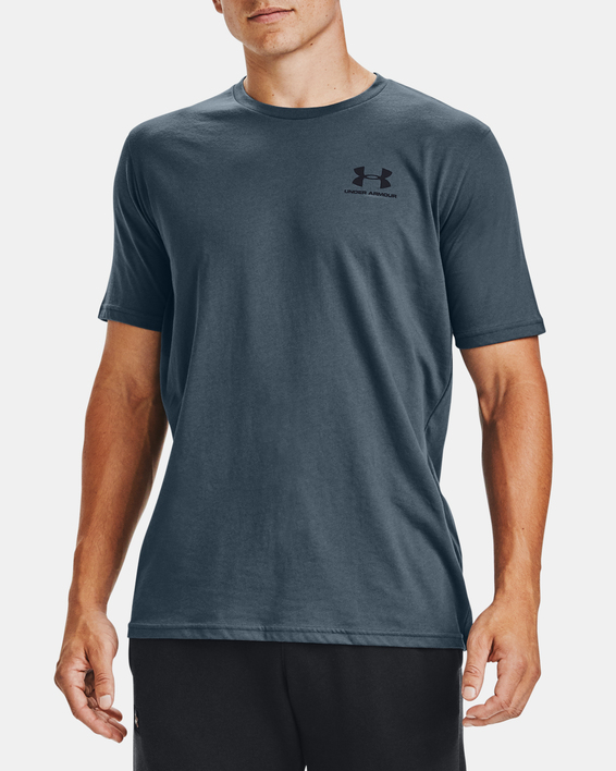 Tričko Under Armour SPORTSTYLE LC SS-BLU