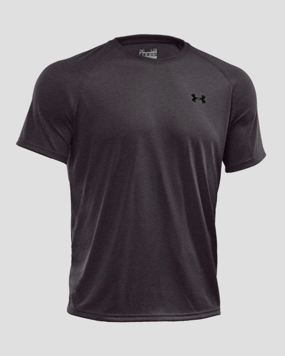 Tričko Under Armour Tech SS Tee-GRY