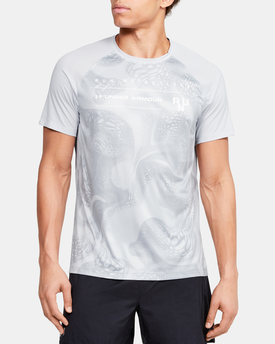 Tričko Under Armour M Qlifier Iso-Chill Weightless Shor