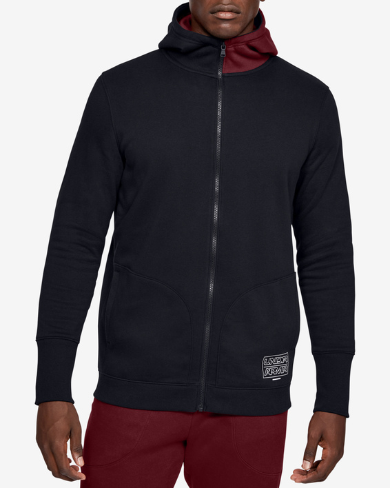 Mikina Under Armour Baseline Fleece Fz Hood